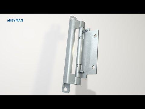 Aeg Kühlschrank Tür Einstellen : Scharnier