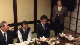 高松市役所立命会新年会(平成27年1月)