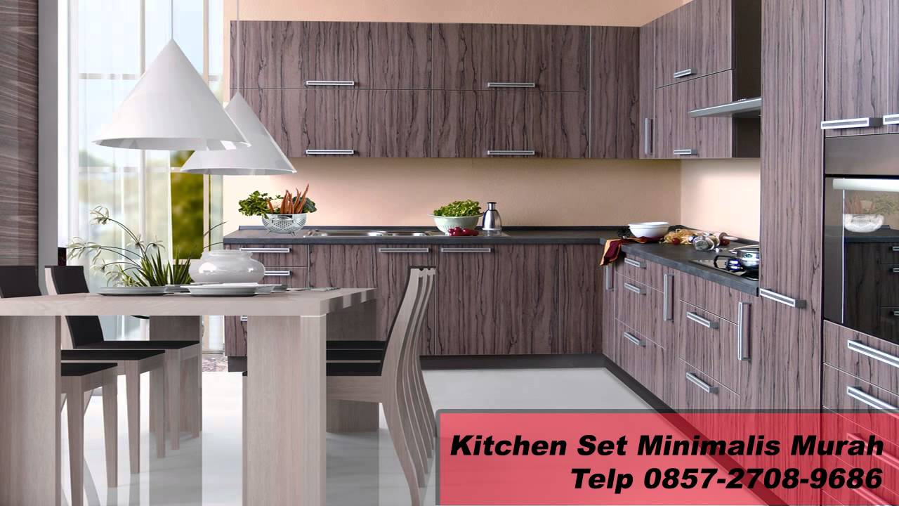 0857 2708 9686 kitchen set mini bar model lemari dapur for Kitchen set aluminium modern