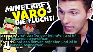 Minecraft Varo 3 #4 ✪ WIR MÜSSEN FLÜCHTEN! - SIE KENNEN UNSERE KOORDINATEN!