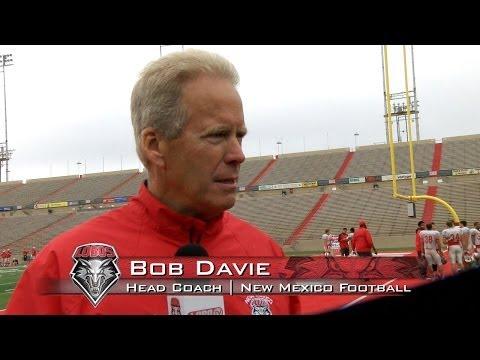 2014 Lobo Football | Coach Bob Davie: Spring Practice #12 Wrap Up
