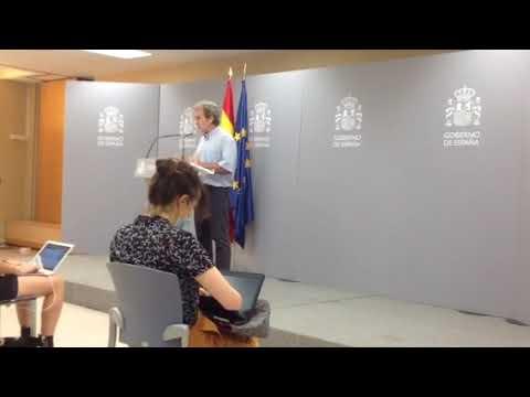 En España aumenta levemente casos asintomáticos y descienden sintomáticos