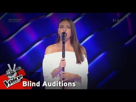 Ειρήνη Αγγελάκη – Μια κόρη ρόδα εμάζωνε | 7o Blind Audition | The Voice of Greece