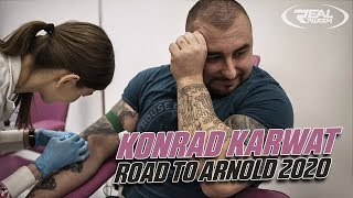 Konrad Karwat road to Arnold Classic 2020 USA