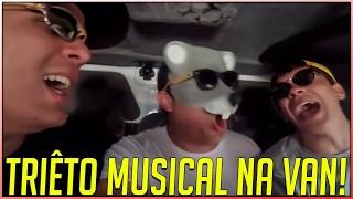 TRIÊTO MUSICAL NA VAN - FT. Julio Cocielo e Igão