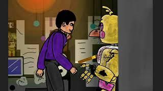 (Фнаф) серия 4 рисуем мультфильм 2