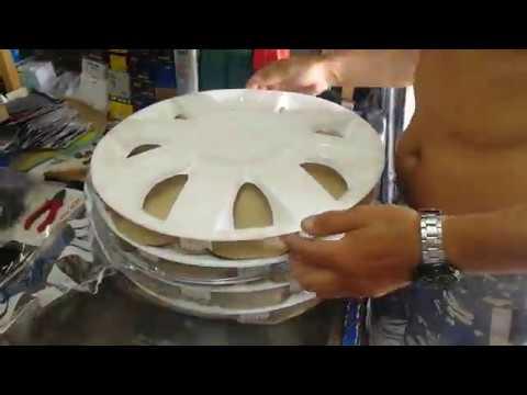 Как правильно установить декоративные колпаки на штампованные диски