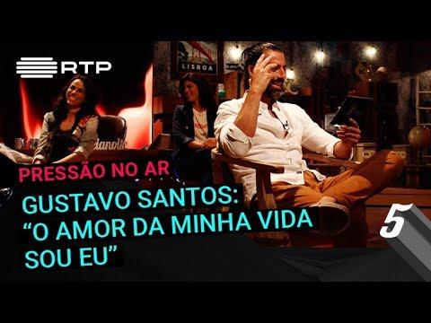 """Gustavo Santos: """"O amor da minha vida sou eu""""   5 Para a Meia-Noite   RTP"""