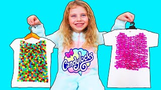 Sweet T-Shirts   Melissa vinde Tricouri Dulci   Candy Story for Kids
