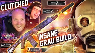 NEW INSANE GRAU BUILD CLUTCHES UP THIS WIN!! FT. Cloakzy
