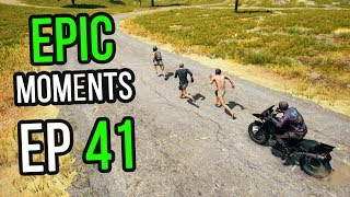 PUBG: Epic & Lucky Moments Ep. 41