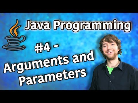 java-programming-tutorial-4---arguments-and-parameters