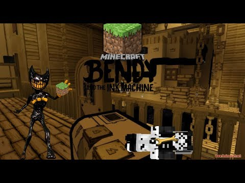 Bendy In Minecraft Chapter 1 MC Version