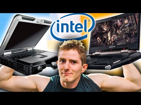 NEW Intel... 'Musclebooks'!?