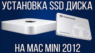 Как установить SSD диск на Mac mini 2012 года? Как НЕ НУЖНО снимать кулер!