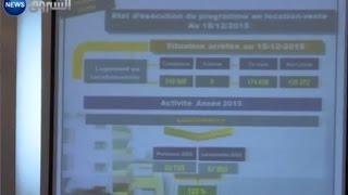 مشروع يعمل على اخلال بالعقد وزيادة اسعار سكنات عدل 2 Tebboune prix AADL