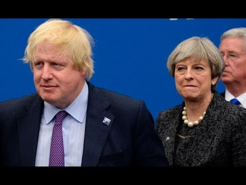May fears demoting Boris Johnson would cause him to blow