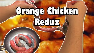 Panda Express Orange Chicken Sausage Redux