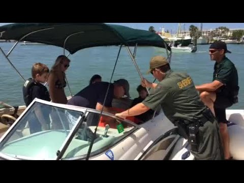 Marine Patrol Makes Sure Boat Has Safety Equipment