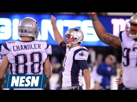 Stephen Gostkowski Nails 54-Yard Field Goal For Patriots Win