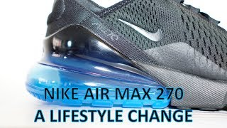 REVIEW & ON-FEET - Air Max 270 Photo Blue