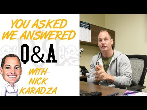 Q&A With Nick Karadza! YOU ASKED, WE ANSWERED