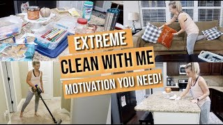 EXTREME CLEAN WITH ME 2019 | NIGHT TIME CLEANING ROUTINE | AFTER DARK SPEED CLEANING MOTIVATION