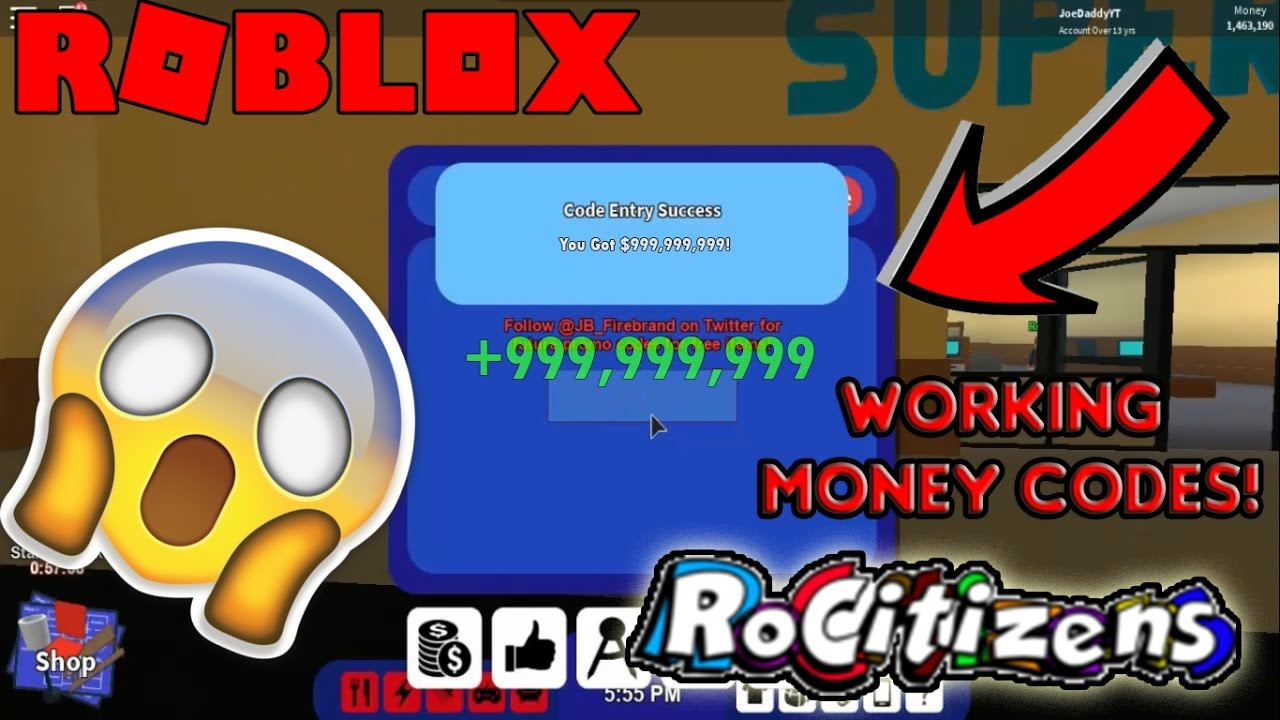 roblox money codes for rocitizens 2018