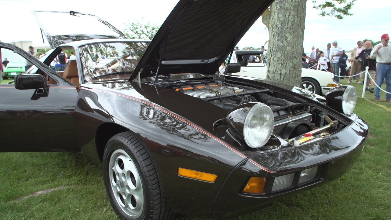 1979 Porsche 928 at Greenwich Concours dElegance on