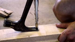 Pulling nails without heads / pallet recycling