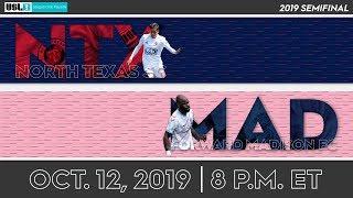 2019 USL League One Playoffs North Texas SC Vs. Forward Madison FC
