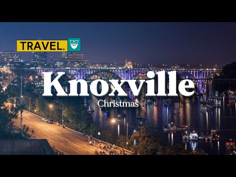 Christmas in Downtown Knoxville, Tennessee | ChadGallivanter