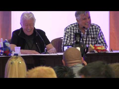 Jack Angel and Dick Gautier at TFCON 2013 Part 2