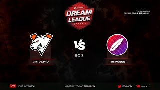 Virtus.pro vs The Pango | Bo3 | DreamLeague Season 11 Close QL @Tekcac [RU]