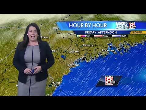 A bright Friday and a slight warm up to start the weekend