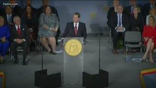 Brian Kemp issues three executive orders on first day as governor