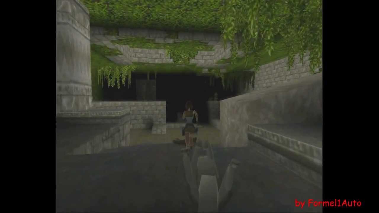 Tomb Raider 1 Walkthrough Level 1 Caves Hd Youtube