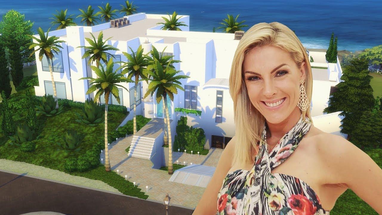 3a945e9270fab Mansão da Ana Hickmann em Itu │The Sims 4 (Speed Build) - YouTube