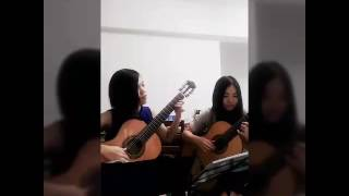 Grandfather's Clock Played by Love DuanDuan & Cindy Lim (DC Guitar Duo)