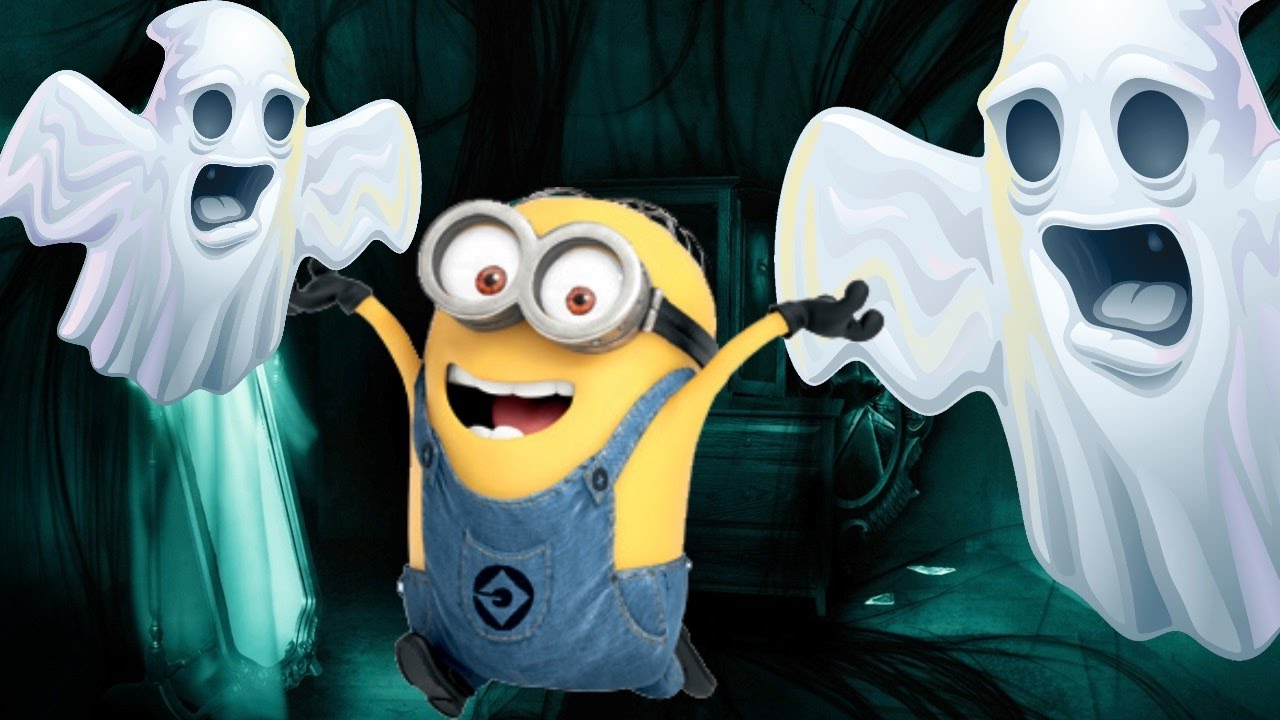 Scary Despicable Me 3 Minions Mini Movie Cartoon W Peppa Pig Halloween Funny Ghosts Video For Kids