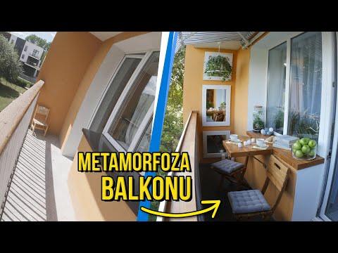 Metamorfoza balkonu #1 – tani remont