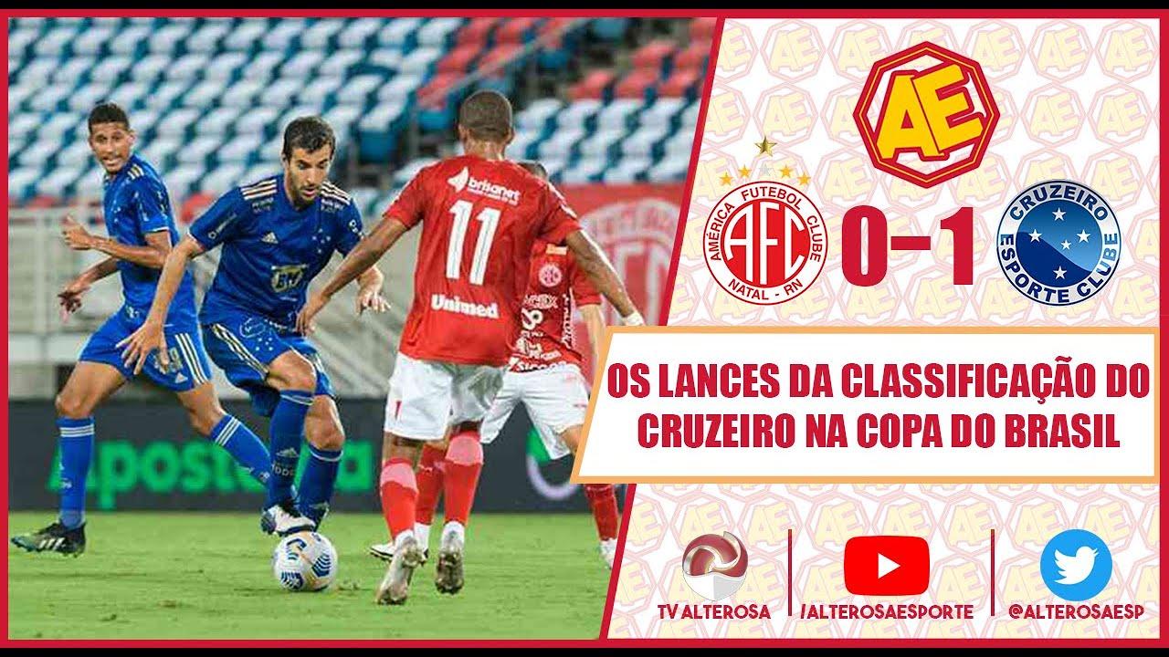 Os lances da classificação do Cruzeiro na Copa do Brasil - YouTube