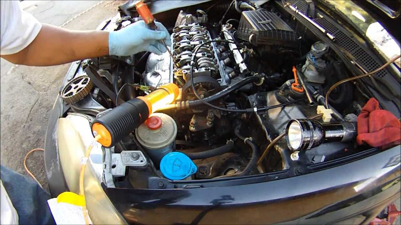 very detailed honda civic timing belt change replacement for all 1996 2000 honda civics youtube [ 1280 x 720 Pixel ]