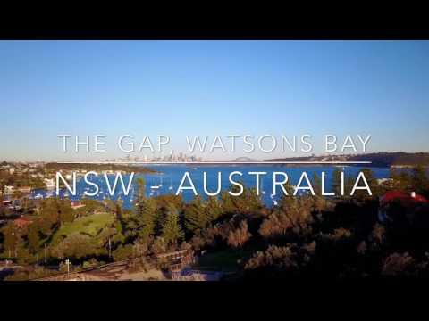 The Gap, Watsons Bay - NSW Australia - Drone Aerial Footage