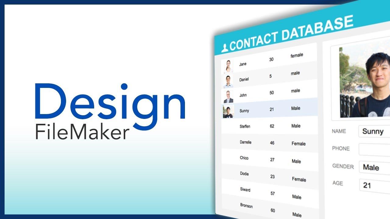 FileMaker Design #01 – FileMaker Beginner