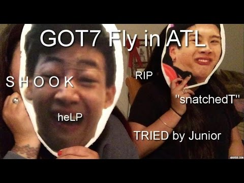 GOT7 FLY IN ATL CONCERT AND PHOTO OP EXPERIENCE W/ FOOTAGE