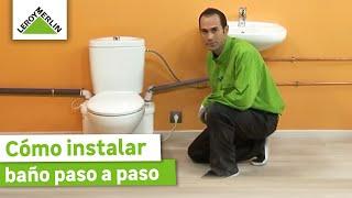Instala un baño en cualquier parte de tu casa (Leroy Merlin)