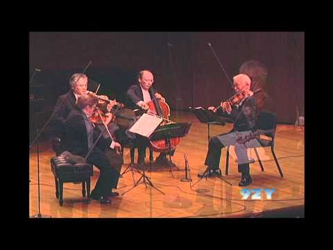 "Tokyo String Quartet plays Beethoven, String Quartet in F minor, ""Serioso"""