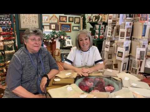 Flosstube #48 Needlework Natters with Pat of Lakeside Linen