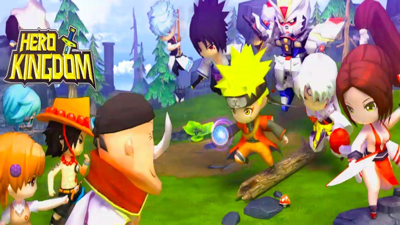 HERO KINGDOM Android Gameplay u1d34u1d30